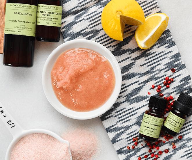 Yuzu & Pink Peppercorn Salt Glow Massage Scrub