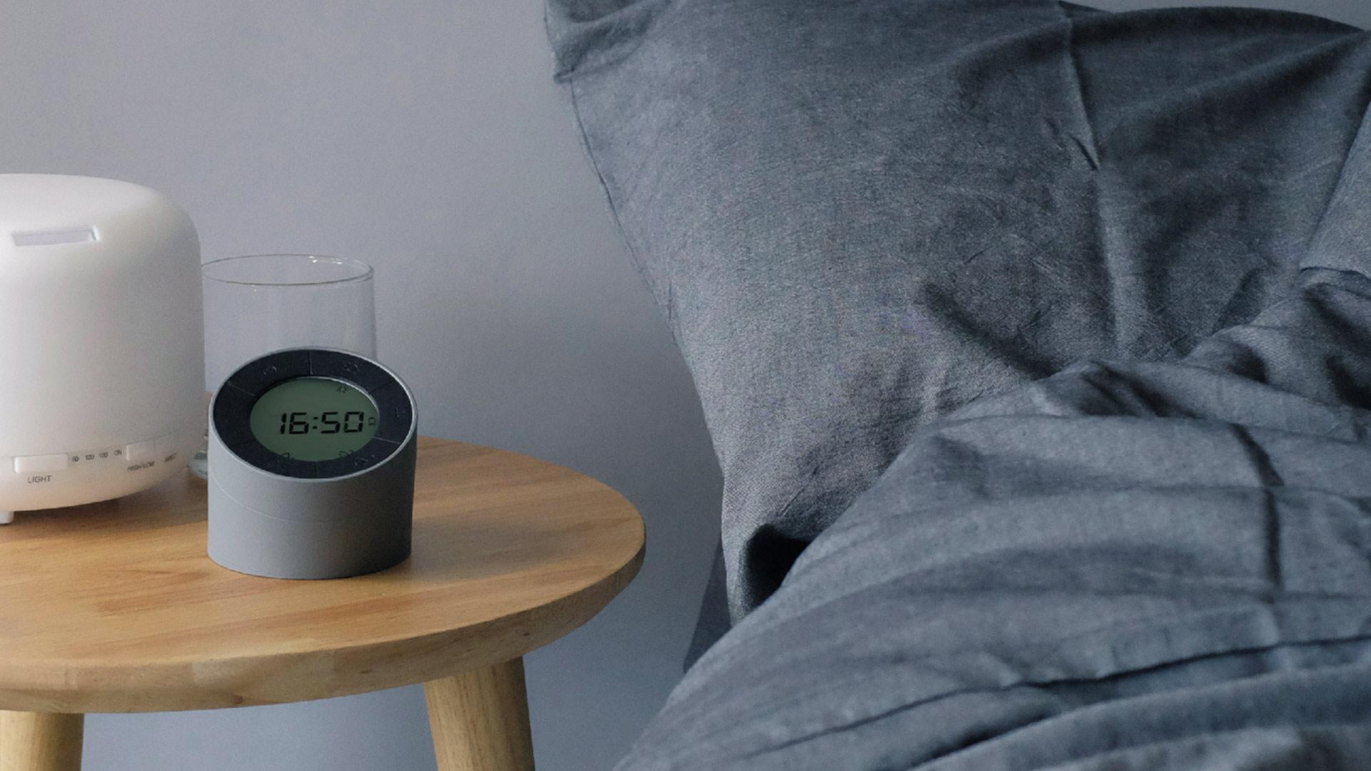 Bedside Lamp Alarm Clock Homeware Natural Bed Company