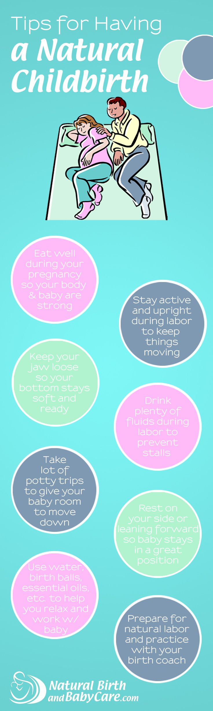 labor tips You successfully made a baby (that was the fun part) and by now you have this whole pregnancy thing down labor, though, is fast approaching—a fact you may.