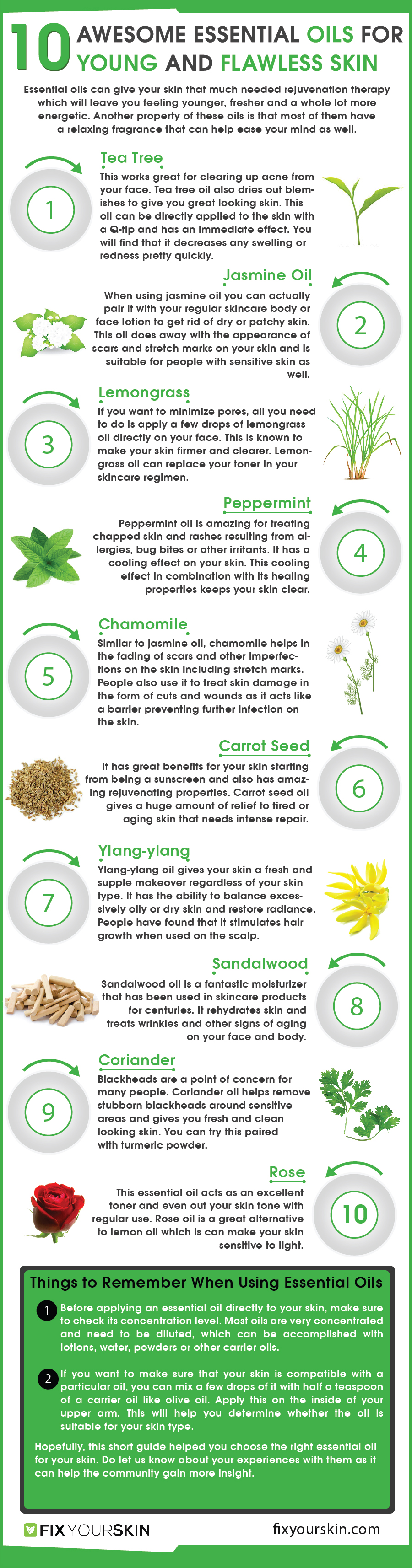 10 Best Essential Oils For Flawless Skin