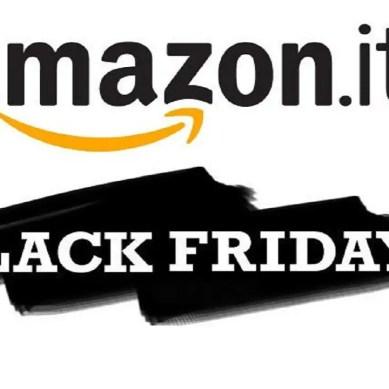 Amazon: vediamo le prime offerte della Black Week