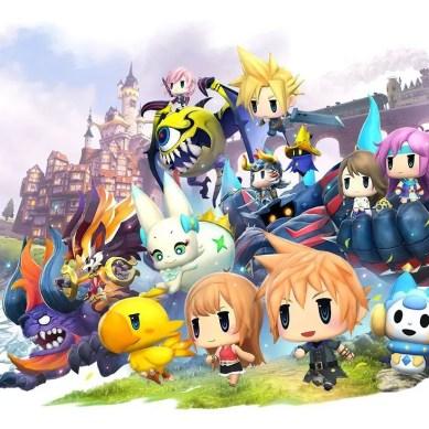 World of Final Fantasy Meli-Melo annunciato per Mobile