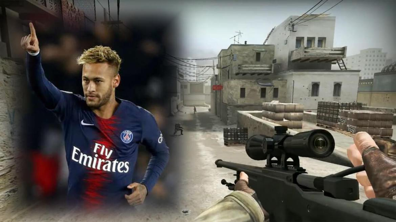 Neymar Jr batte da solo 5 avversari a Counter-Strike: Global Offensive [Video]
