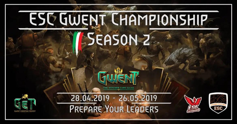Esc Gwent Championship Season 2: tappe e regolamento