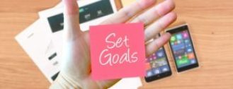 setting goals-planning