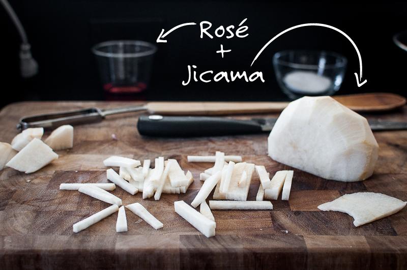 How to julienne jicama