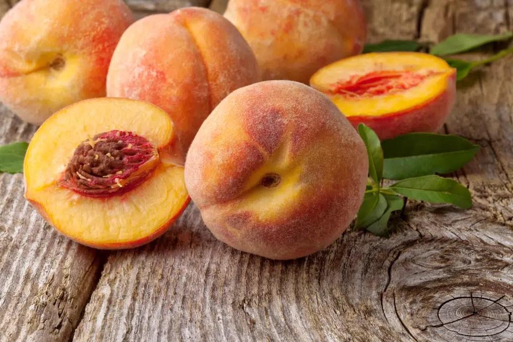 Benefícios para a saúde do pêssego