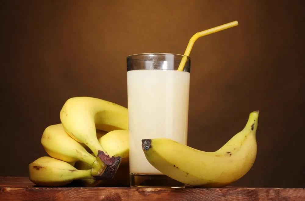 Como fazer suco de banana?