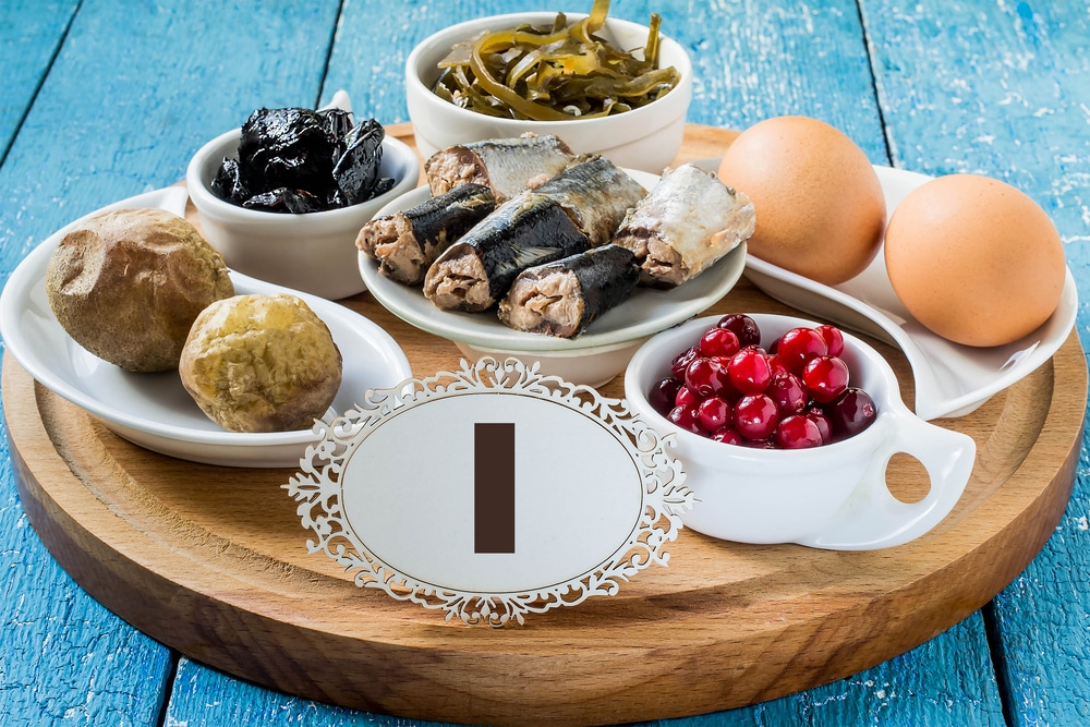 Benefícios para a saúde do iodo