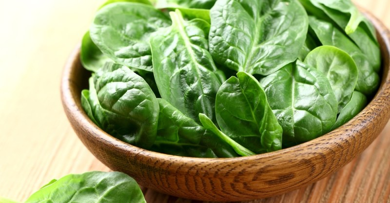 Young spinach benefits
