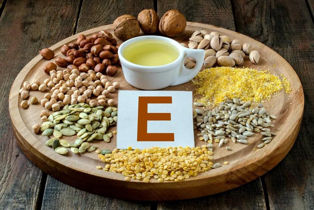 Benefícios para a saúde da vitamina E