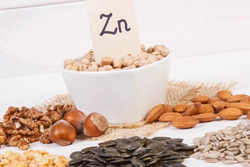 Benefícios surpreendentes para a saúde do zinco