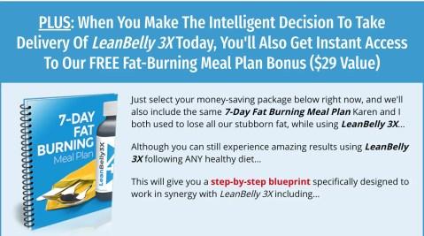 Lean Belly 3X Bonus