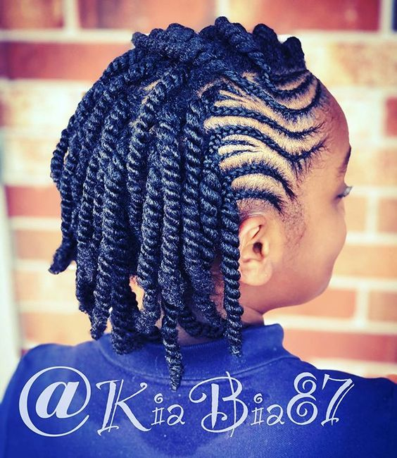 33 Braid Hairstyles For Black Women Kids Voguehub Net