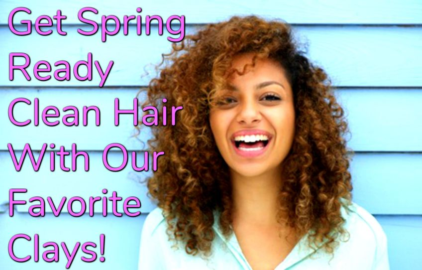 Get clean hair the right way this spring and summer by using clays! Check out our list of some of the best clays to cleanse your hair this spring and summer