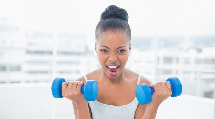 Working Out With Natural Hair
