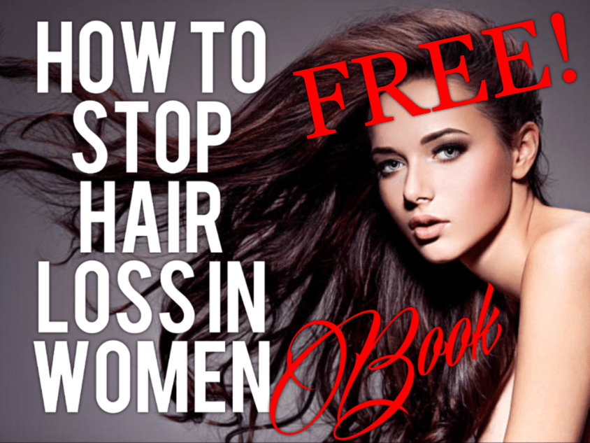 Free Book - Here's My Hair Loss Book Just For You! My book, How To Stop Hair Loss In Women: No More Suffering In Silence is free through Sunday.