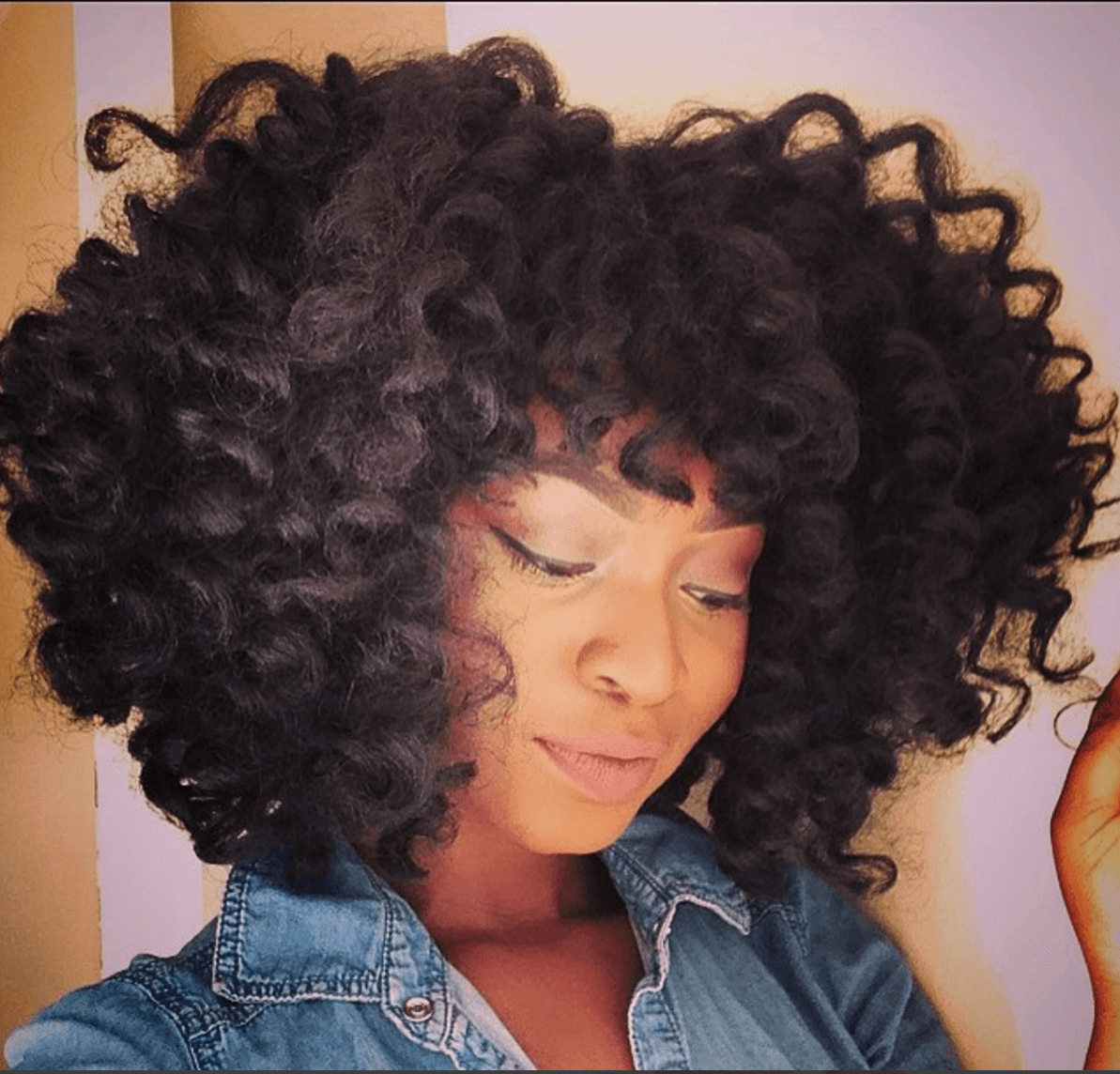 The Crochet Look Using Afro Twists Braids