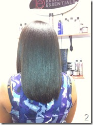 Blow Out Press Straighten Natural Hair