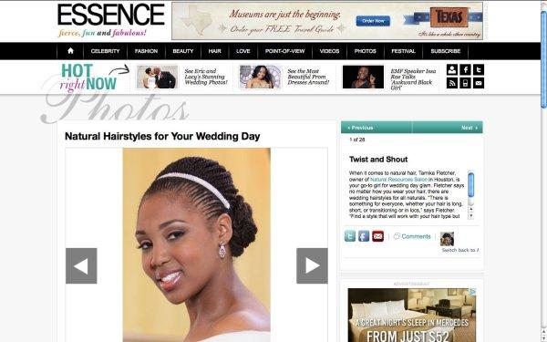 Tamara L. Floyd Essence Natural Hair Rules