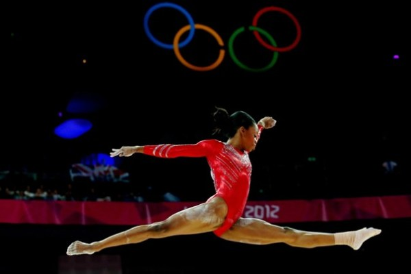 Ah Oh Moms got some words for her baby, Gabby Douglas' critics