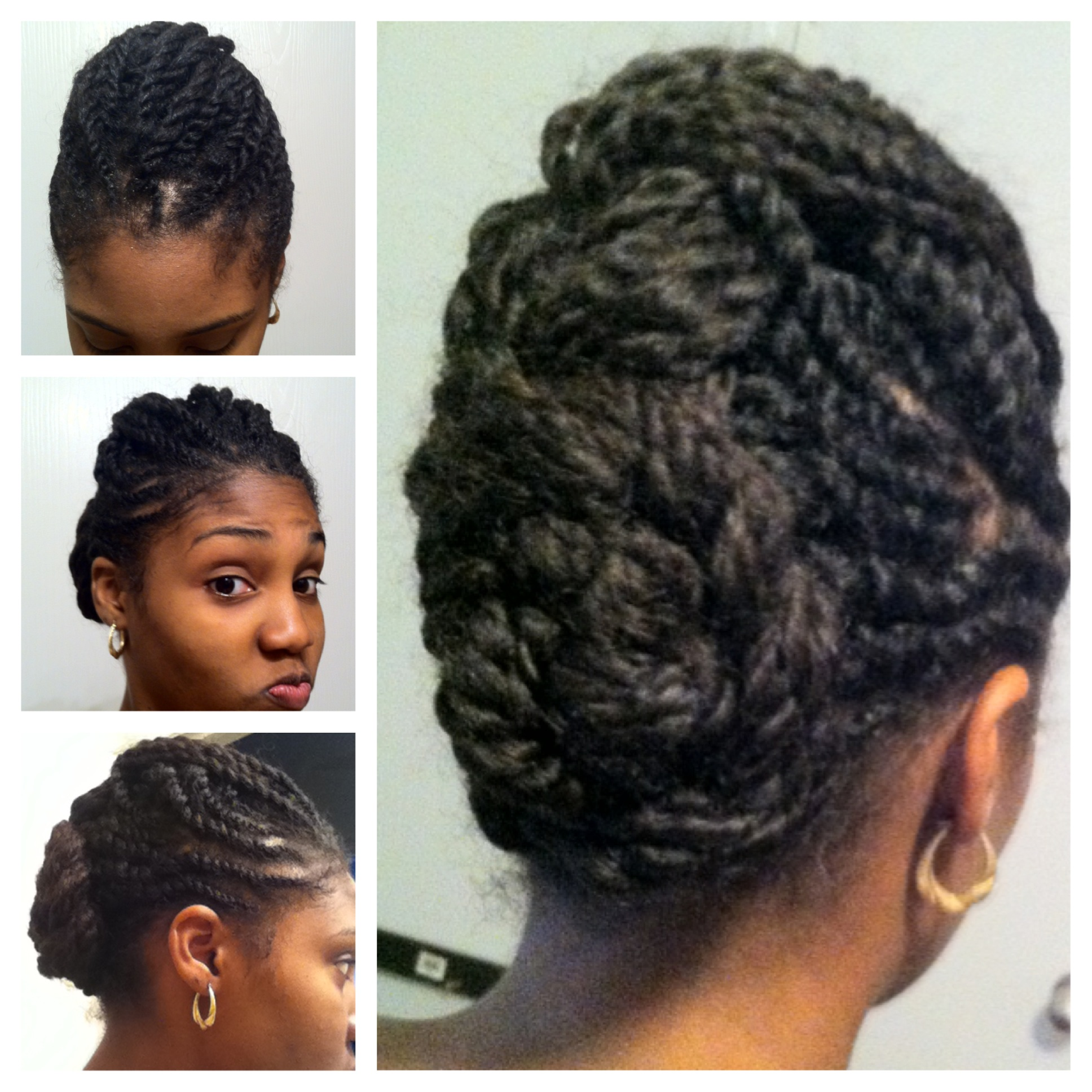 best protective styles for short natural hair