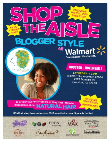 Shop The Aisle Blogger Style with host Natural Hair Rules