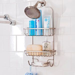 3 Ways To Store Your Hair Products in the Shower