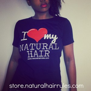 I heart my natural hair tee for sale