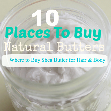 10 Place Where You Can Buy Shea Butter