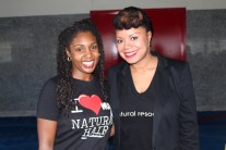 Tamara of Natural Hair Rules and Tamika Fletcher