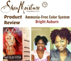 Product Review Shea Moisture Hair Color System