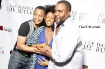 The Butler Philadelphia Premiere Yaya DaCosta Alafia & Baby Bump