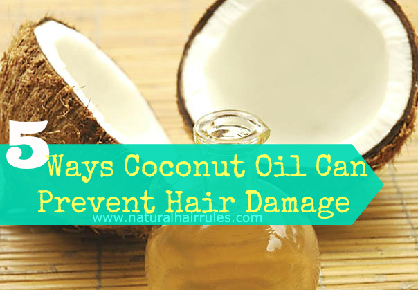 5 Ways Coconut Oil Can Prevent Hair Damage