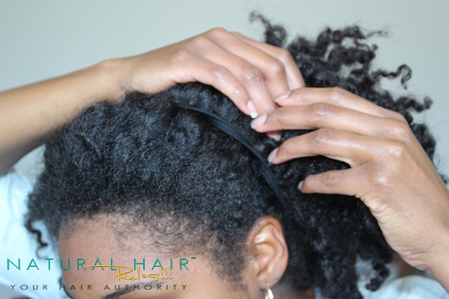 4 Rainy Day Natural Hairstyles | Front Branded