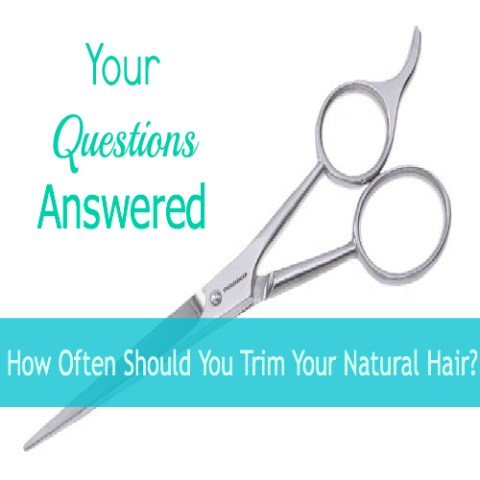 How Often Should You Trim Your Natural Hair???