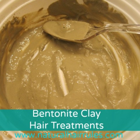 Bentonite Clay Hair Treatment