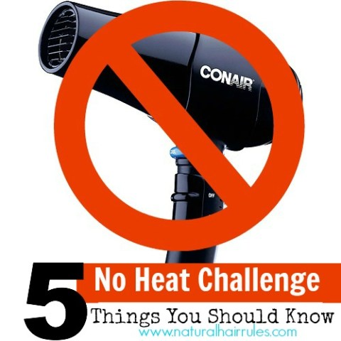 5 Disadvantages of the No Heat Challenge