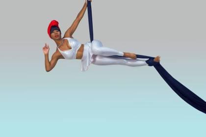 Algebra Blessett Aerial Silk