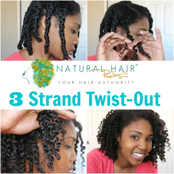 Awesome Step By Step Tips For 3 Strand Twists Natural Hair Rules Short Hairstyles For Black Women Fulllsitofus