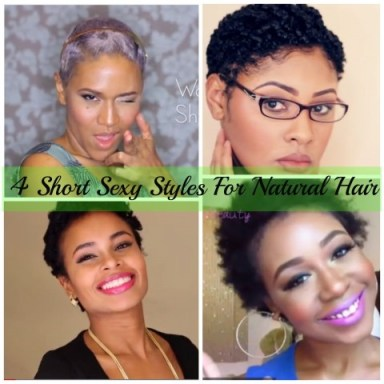 Short Sexy Styles For Natural Hair