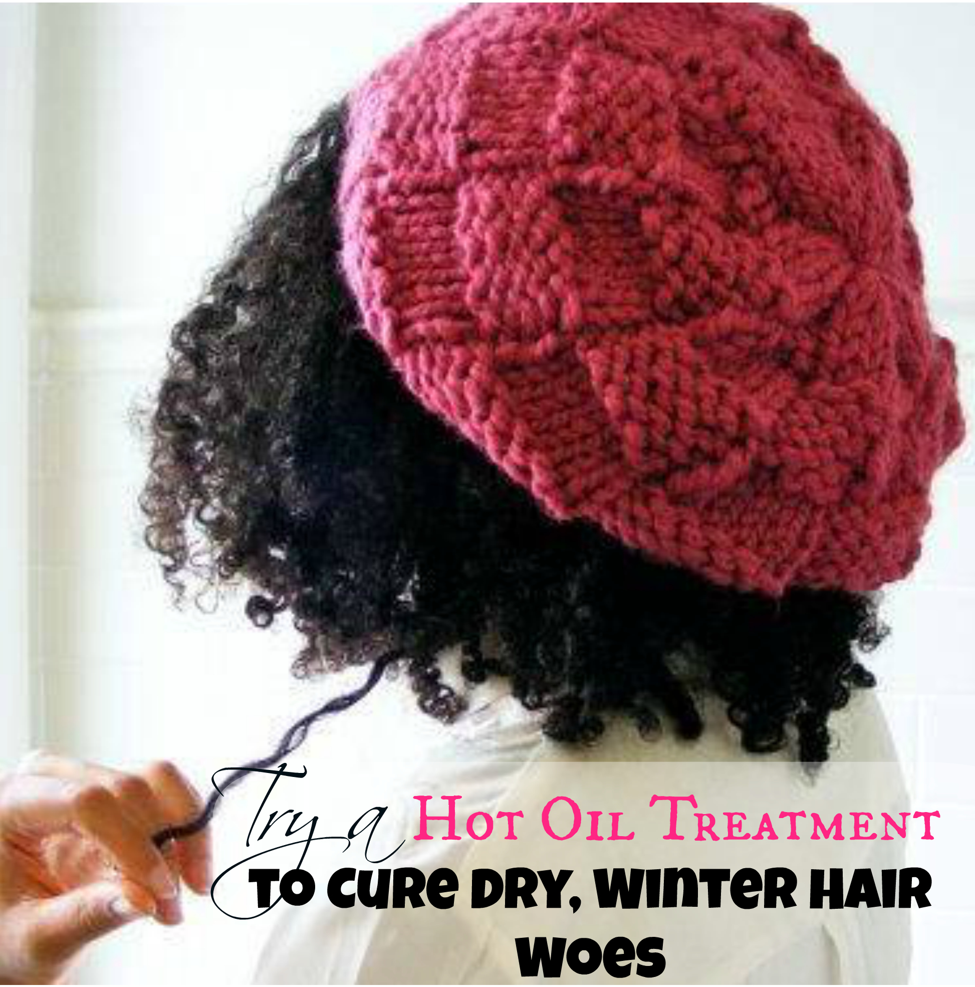 Homemade Hot Oil Treatment Natural Black Hair