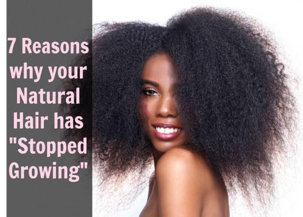 natural hair, how to grow long natural hair, reasons why hais has stopped growing