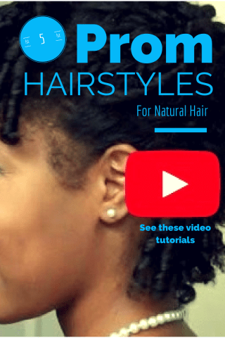 Prom Natural Hairstyles