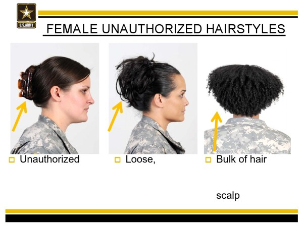 Army Bans Natural Hairstyles