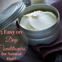 5 DIY Deep Conditioners for Natural Hair You Can Make Today