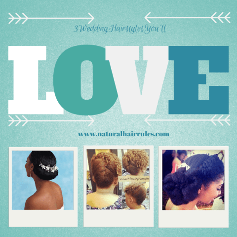 Natural Hair Wedding Hairstyles