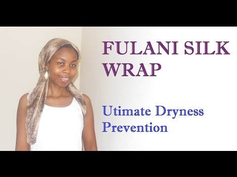 Fulani Wrap for More Moisturized Natural Hair