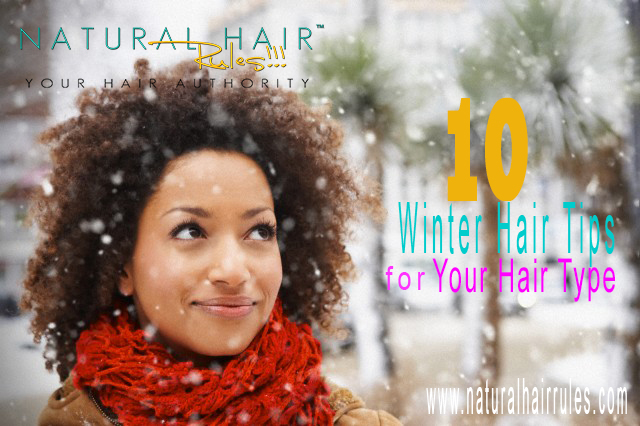 10 Winter Hair Care Tips for All Hair Types