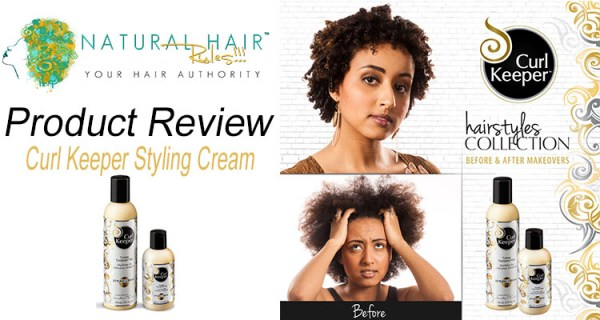 Product Review: Curl Keeper Styling Cream